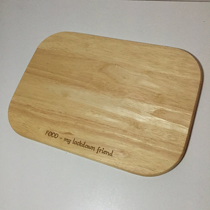 T&G Rectangular Board - Food My Lockdown Friend