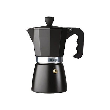 La Cafetiere Classic 6 Cup Stovetop Espresso - Black