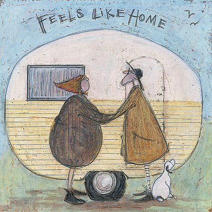 Canvas Art - Sam Toft 'Feels Like Home'