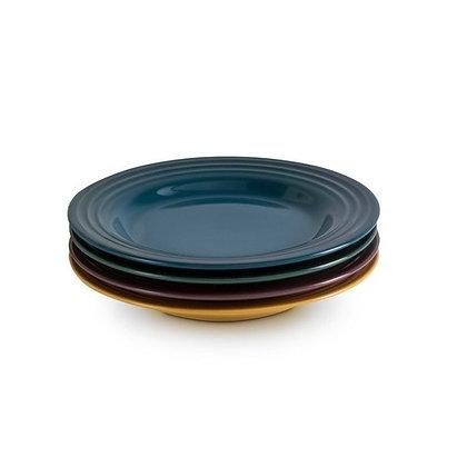 Le Creuset Stoneware Botanique Set of 4 Appetiser Plates
