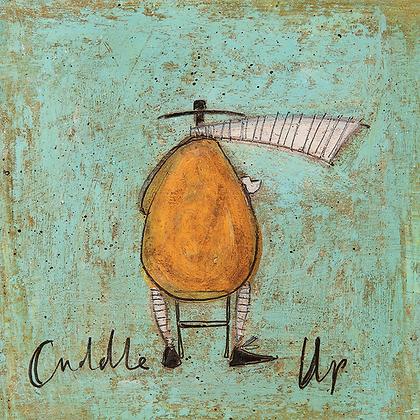Canvas Art - Sam Toft 'Cuddle Up'