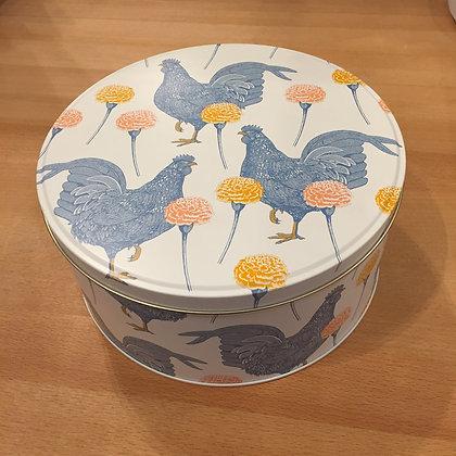 "Elite Tins Thornback & Peel ""Chicken & Carnation"" Small Cake Tin"