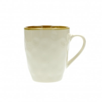 Rose & Tulipani Concerto Coffee Mug - Ivory