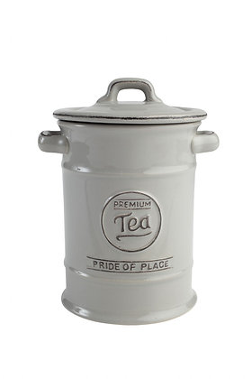 Pride Of Place Tea Jar Cool Grey