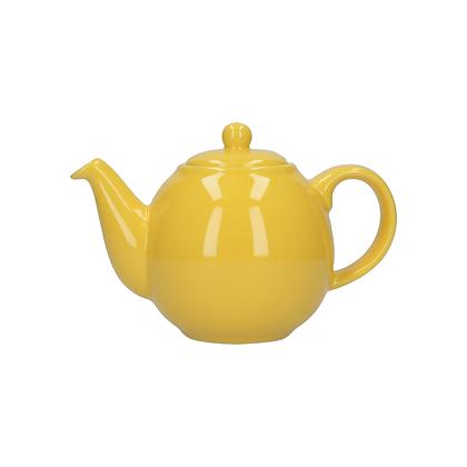 London Pottery 4 Cup Globe Teapot - Yellow