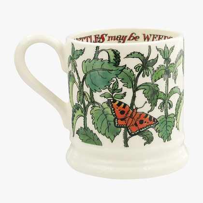 Emma Bridgewater Nettles Half Pint Mug