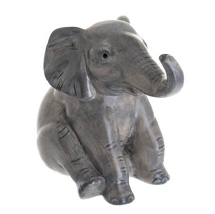 Beswick Money Bank - Sitting Elephant