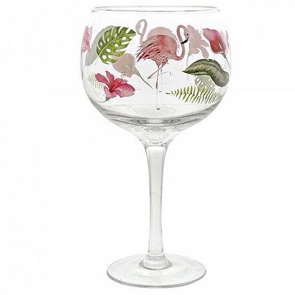 Ginology Gin Copa Glass - Flamingo