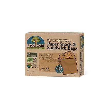 Eddington's If you Care Parchment Sandwich Bags