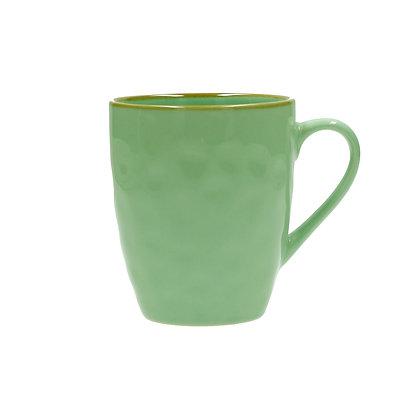 Rose & Tulipani Concerto Coffee Mug - Turquoise Green