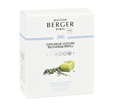 Maison Berger Soap Memories Car Diffuser Refill