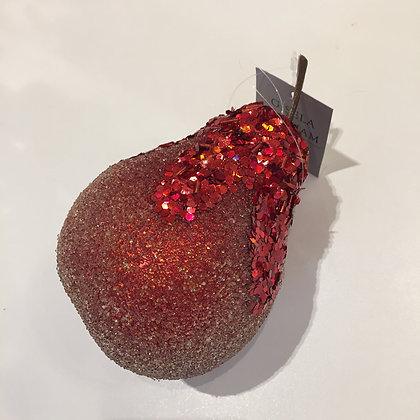 Gisela Graham Decoration - Red Pear