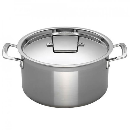 Le Creuset Three Ply Stainless Steel Deep Casserole 28cm