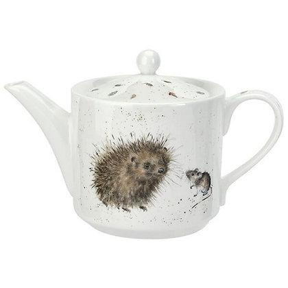 Royal Worcester Wrendale 1 Pint Teapot - Hedgehog