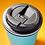 Thumbnail: Smidge 236ml Insulated Travel Cup-Aqua