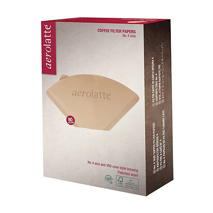 Aerolatte Coffee Filter Papers No. 4 Size