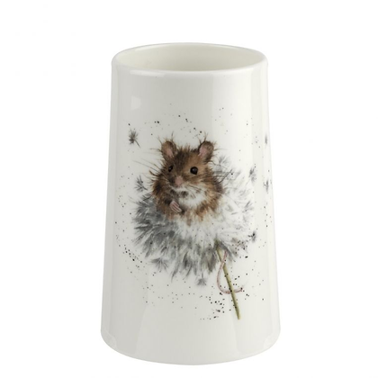 Royal Worcester Wrendale Small Vase - Country Mice