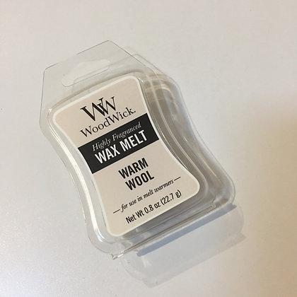 Woodwick Mini Wax Melt - Warm Wool