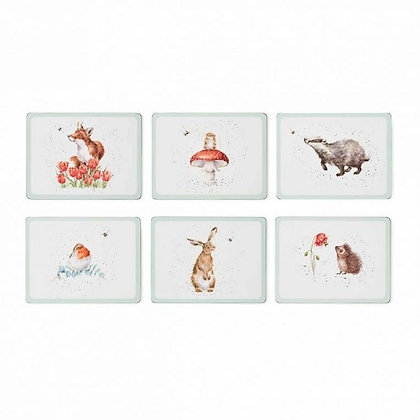 Pimpernel Wrendale Designs Set of 6 'The Bee Collection' Placemats