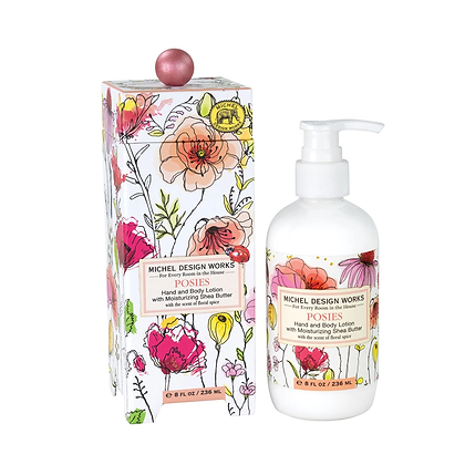 Michel Designs Hand and Body Lotion - Posies