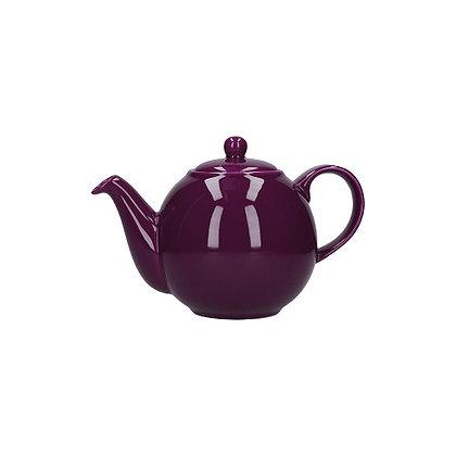 London Pottery 2 Cup Globe Teapot - Purple