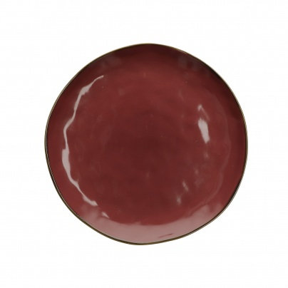 Concerto Deep Red 27cm Plate
