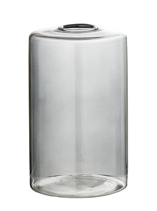 Bloomingville Glass Bud/Stem Vase - Grey