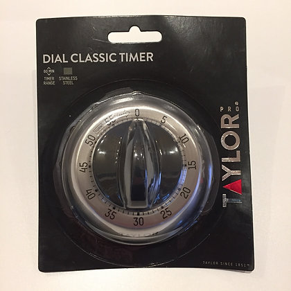 KitchenCraft 60 minute steel classic mechanical timer