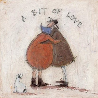 Canvas Art - Sam Toft 'A Bit of Love'