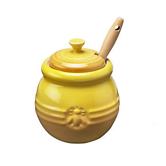 Le Creuset Stoneware Honey Pot with Dipper
