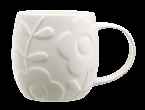 Repeat Repeat Plum Mug - Flower