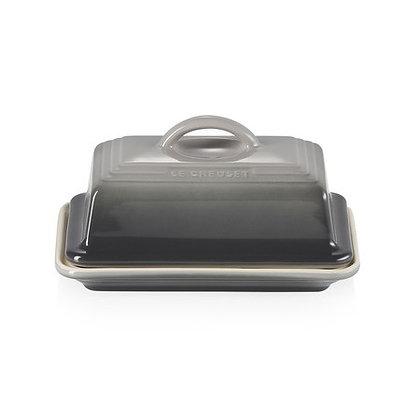 Le Creuset Stoneware Butter Dish - Flint