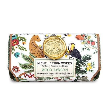 Michel Designs Bar Soap - Wild Lemon