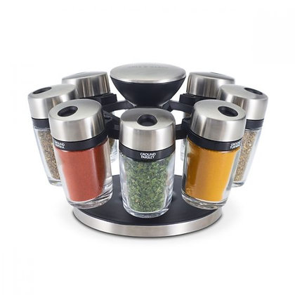 Cole and Mason Premium 8 Jar Herb and Spice Carousel