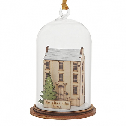 Kloche Hanging Ornament - Home for Christmas