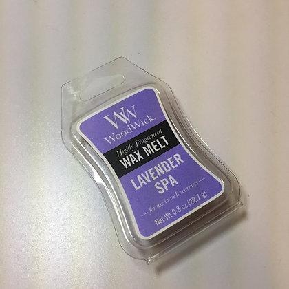 Woodwick Mini Wax Melt - Lavender Spa