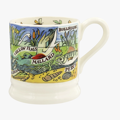 Emma Bridgewater River and Shore Half Pint Mug