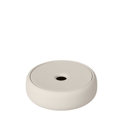 Blomus Sono Storage Box/ Soap Dish - Moonbeam