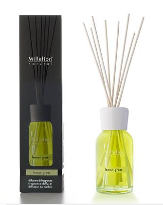 Millefiori Milano Natural 250ml Diffuser - Lemon Grass