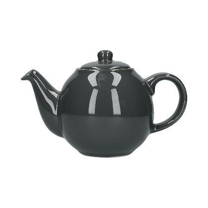 London Pottery 6 Cup Globe Teapot - London Grey