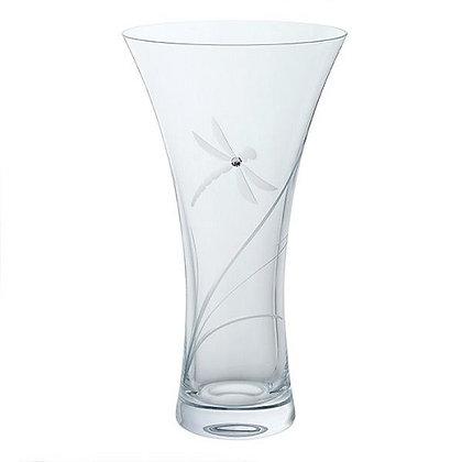 Dartington Crystal Glitz Dragonfly Large Vase