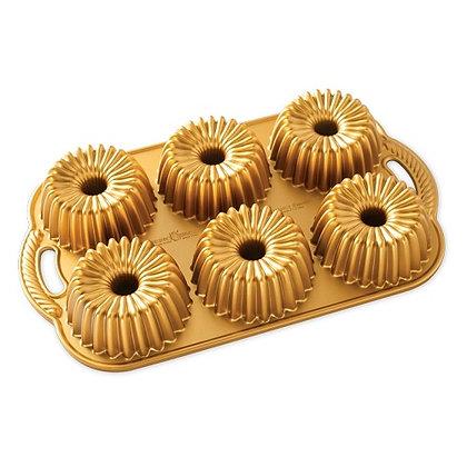 Nordic Ware Gold Brilliance Cakelet Pan