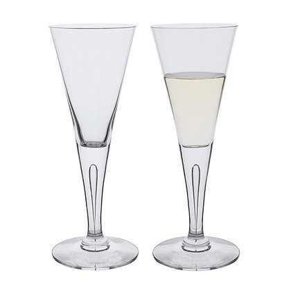 Dartington Crystal Large, Red/White Wine glass pair