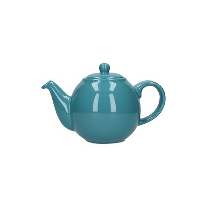 London Pottery 2 Cup Globe Teapot - Aqua