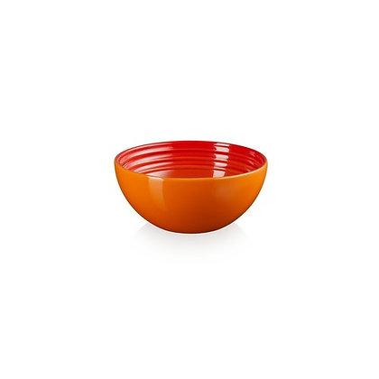 Le Creuset Stoneware 12cm Snack Bowl - Flame/Volcanic