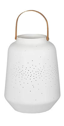 Rader Medium Porcelain Lantern