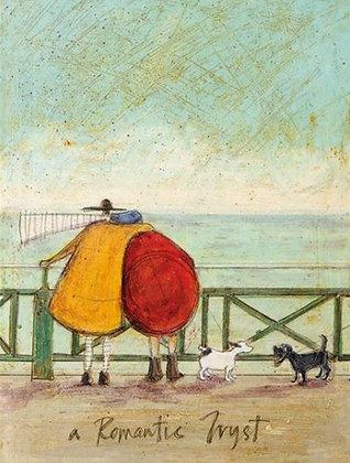 Canvas Art - Sam Toft 'A Romantic Tryst'