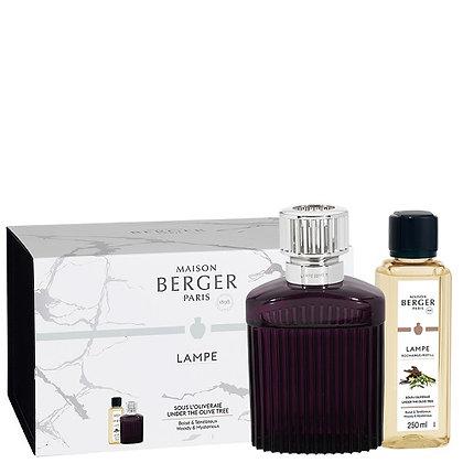 Maison Berger Alpha Lamp - Scandalous Plum Gift Pack