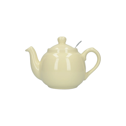 London Pottery 2 Cup Farmhouse Infuser Teapot - Ivory