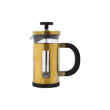La Cafetiere Edited Pisa 3 Cup Cafetiere - Brushed Gold